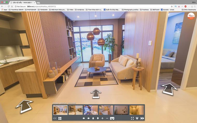 Ứng dụng công nghệ thực tế ảo trong ngành giới thiệu dịch vụ bất động sản/ khách sạn