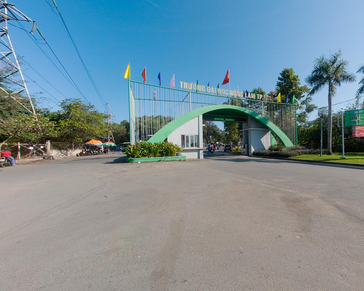 360 độ trường Đại học Nông Lâm TP HCM