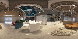 Thiết kế 3D văn phòng ảo 360 độ
